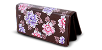 Saanchi - Floral Long Clutch