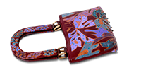 Saanchi - Hand Painted Jewel Tote bag