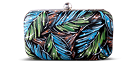 Saanchi - Hand Painted Beaded Clutch