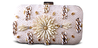 Saanchi - Bridal Beaded Clutch