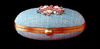 Saanchi - Jewel Applique Clutch