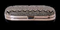 Saanchi - Metallic Gold Clutch